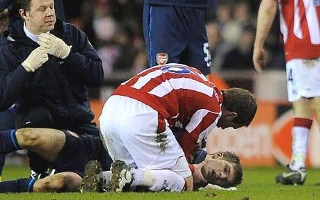 ラムジー 怪我