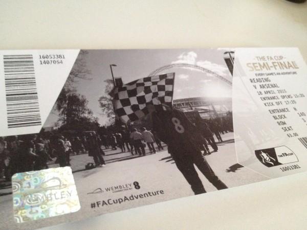 FAカップチケット