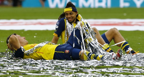 FAカップ決勝2015 優勝セレモニー