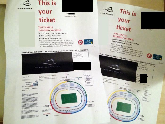 FAカップ チケット