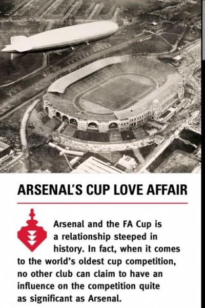 Arsenal FA CUP アプリ