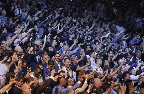 パッキャオ 観客