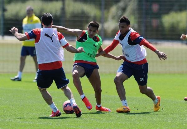 FA CUP2015 トレーニング