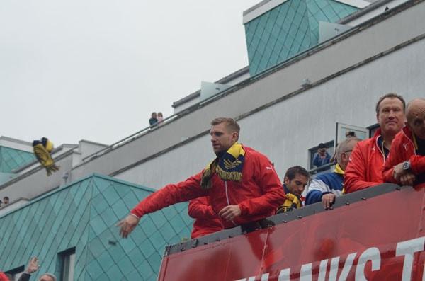 FAカップ2015 パレード
