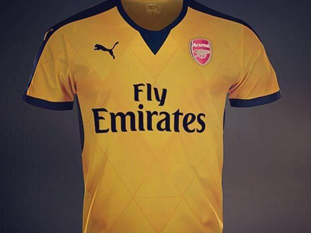 アウェーシャツ 2015