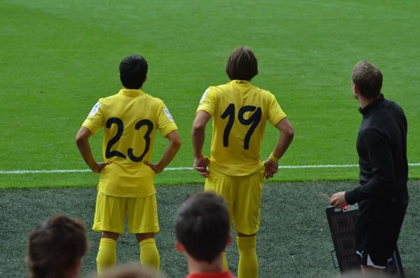 エミレーツカップ15 アーセナル v リヨン