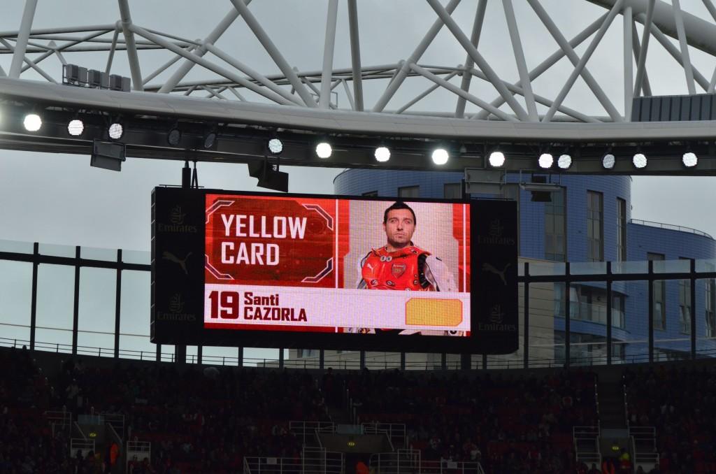 サンティ・カソルラ エミレーツカップ15 アーセナル v ヴォルクスブルク