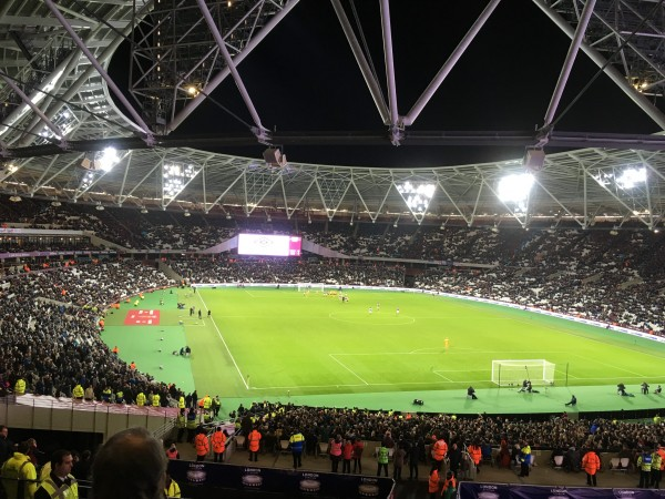 ロンドンスタジアム v ウェスト・ハム