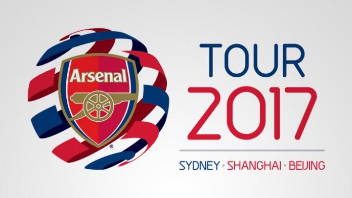 アーセナル ツアー Arsenal tour 2017