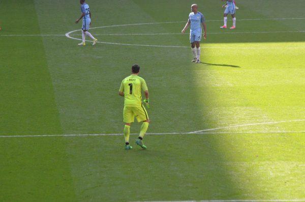 v Man City FAカップ 16-17 ウェンブリースタジアム Wembley Stadium アレクシス・サンチェス ブラボー