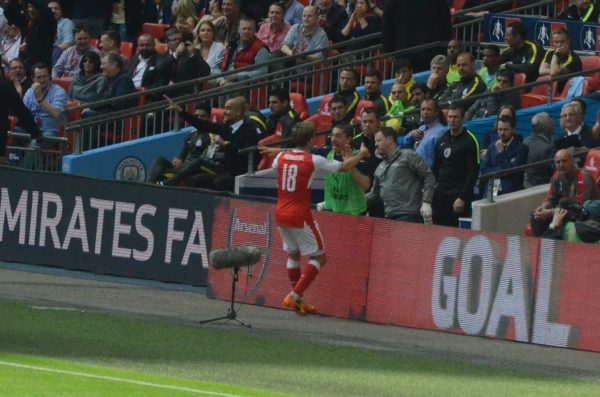 v Man City FAカップ 16-17 ウェンブリースタジアム Wembley Stadium ナチョ・モンレアル