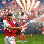 FAカップカップ 16-17 ファイナル v チェルシー ウェンブリースタジアム アレクシス・サンチェス
