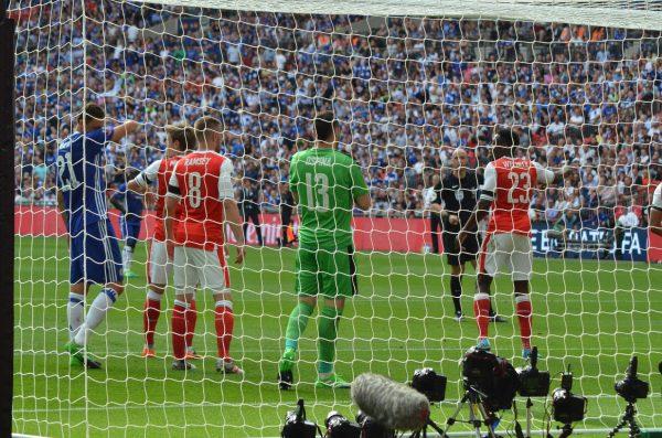 FAカップカップ 16-17 ファイナル v チェルシー ウェンブリースタジアム ダビド・オスピナ