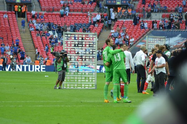 FAカップカップ 16-17 ファイナル v チェルシー ウェンブリースタジアム