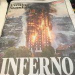 ロンドン 火災
