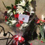 ロンドン フィンズベリー・パーク Finsbury Park テロ 献花 アーセナル