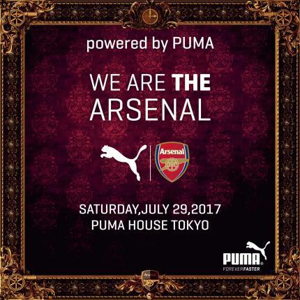 ARSENAL FAN MEETING powered by PUMA アーセナル ファンミーティング
