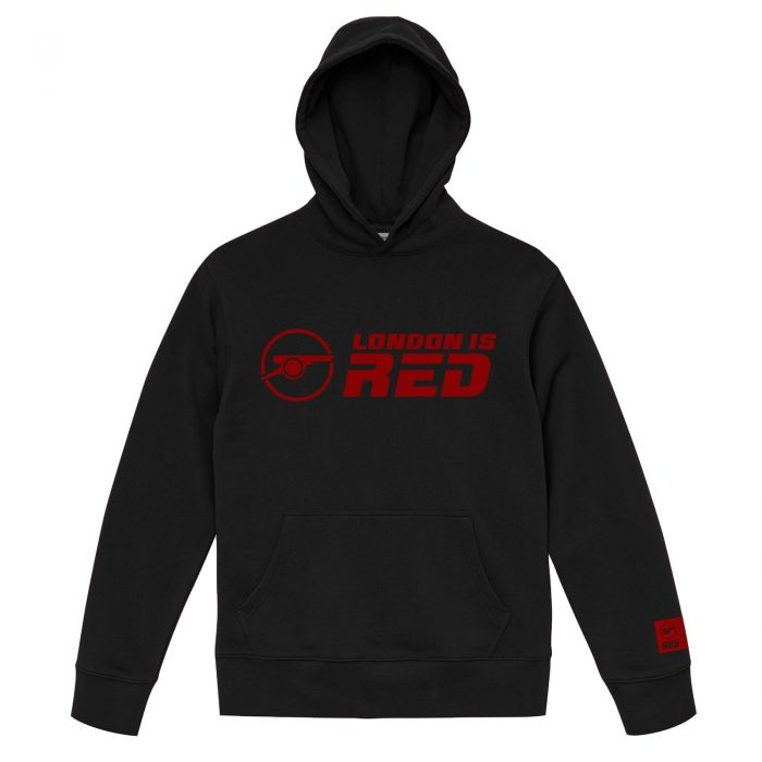 EXFA フーディー パーカー North London is Red