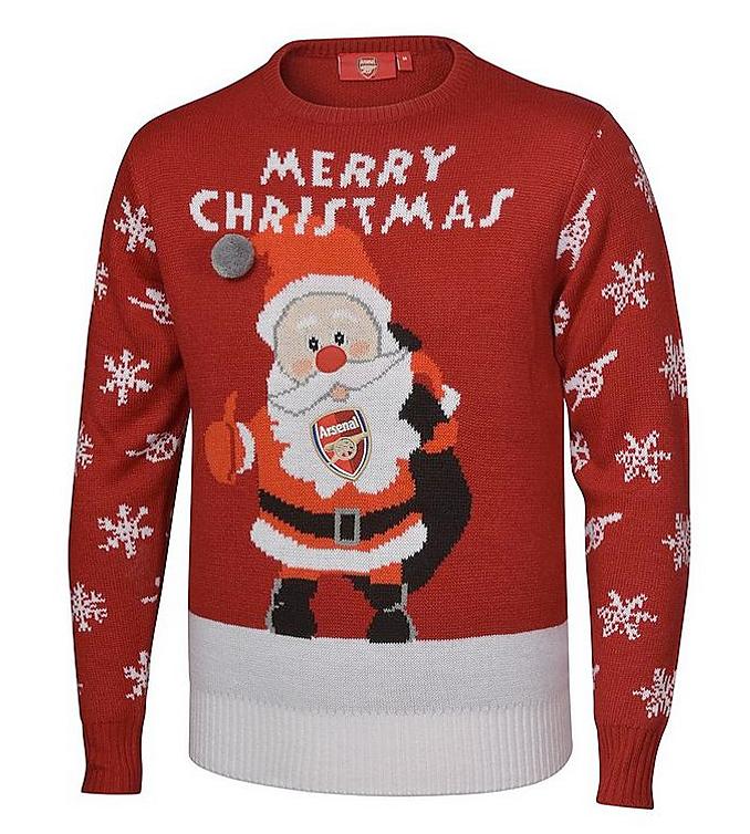 アーセナル 2017 クリスマスジャンパー セーター