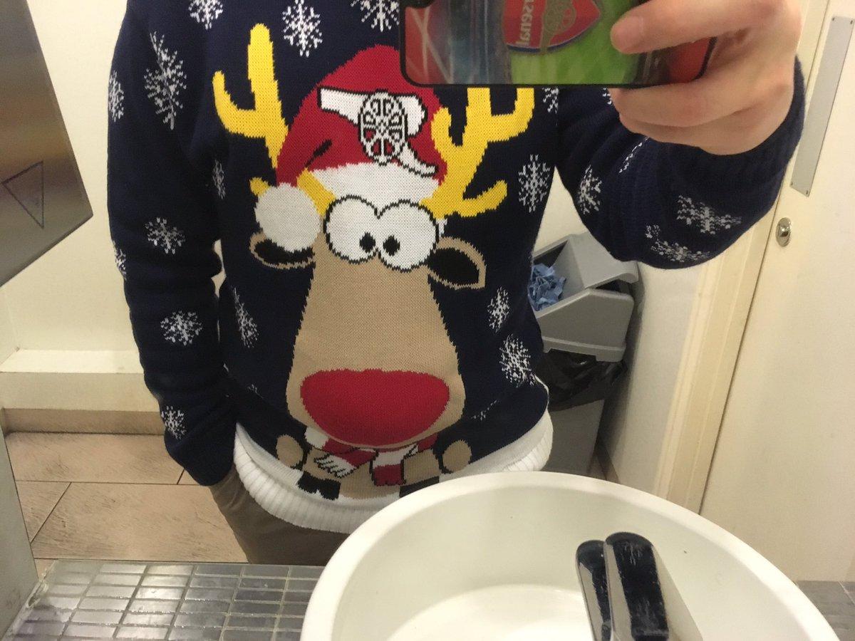 クソだっせえ クリスマスジャンパー