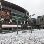 ロンドン 雪 エミレーツ・スタジアム