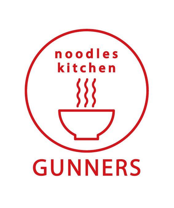 ヌードルズキッチンガナーズ ステッカー ロゴ