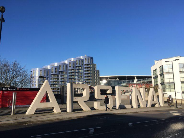 エミレーツスタジアム Emirates Studium ARSENAL