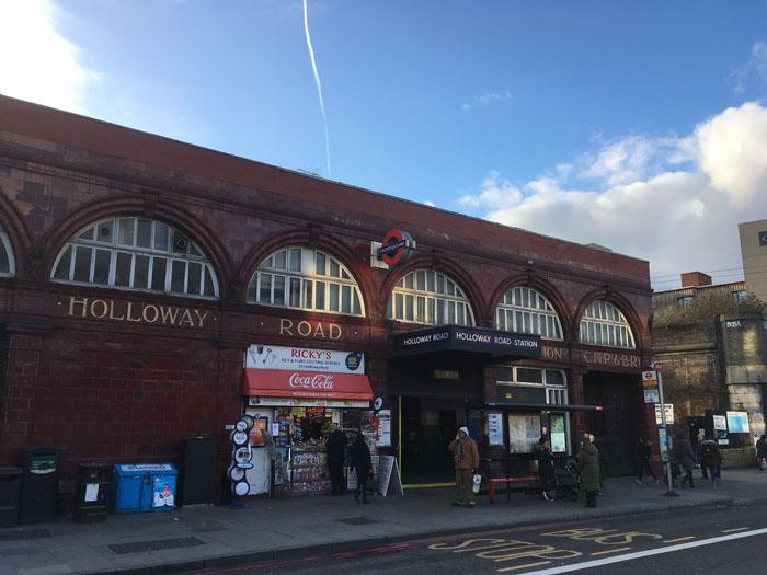 ロンドン 駅 ホロウェイロード Holloway Road Station
