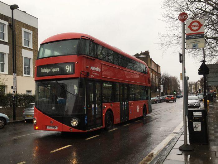 91 ロンドンバス ダブルデッカー
