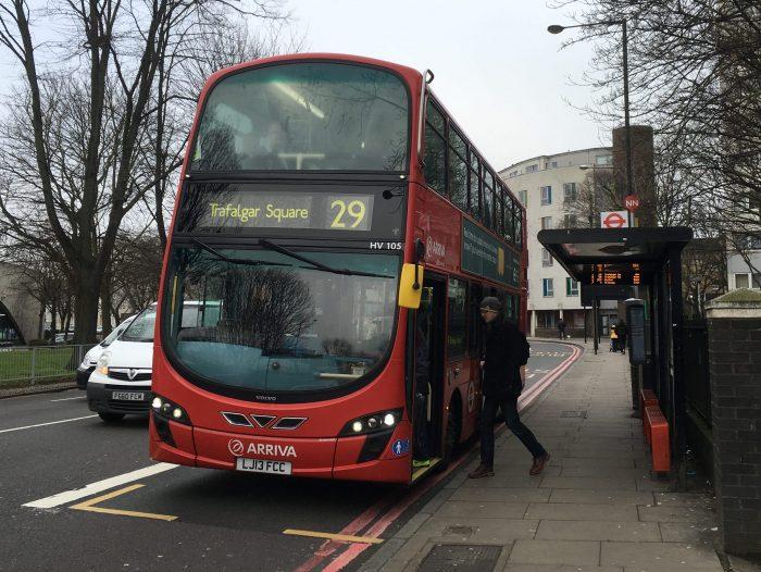 ロンドン バス 29