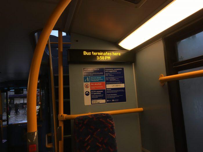 ロンドン バス