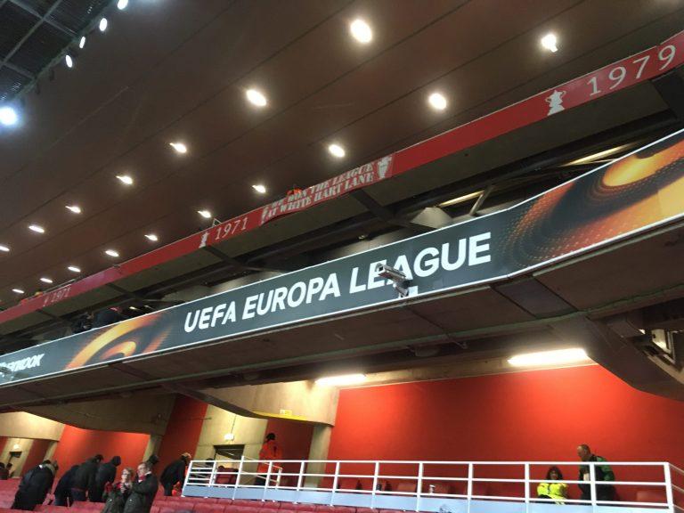 EL v CSKAモスクワ エミレーツ・スタジアム