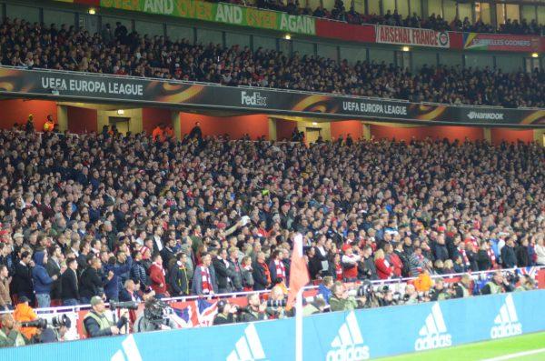 Europe League v アトレチコマドリー エミレーツ・スタジアム