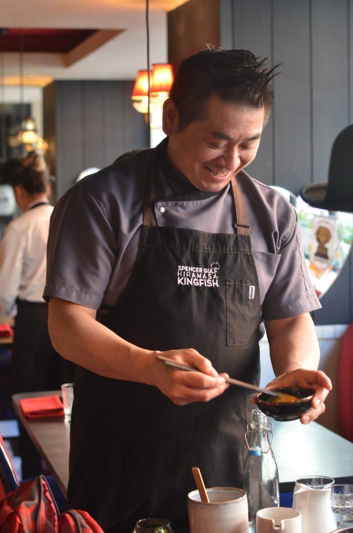 ロンドン チェルシー 日本料理 東京すき焼き亭 斉藤大吉
