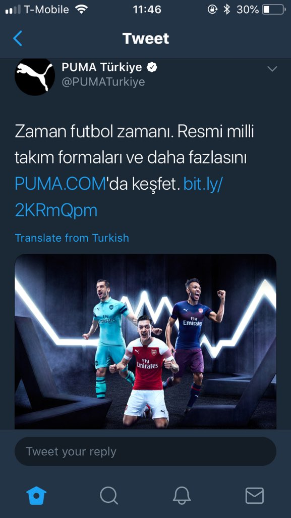 PUMA トルコ