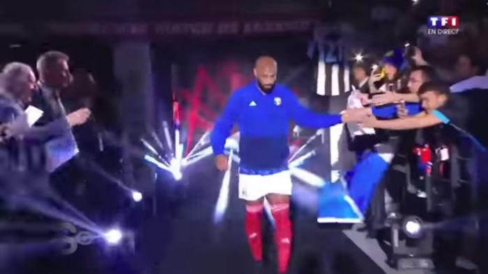 フランス'98 v FIFA98 ティエリ・アンリ