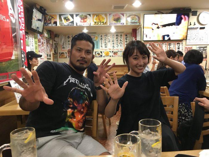 芦野祥太郎 笹木香利 カオリン バッカスナイト