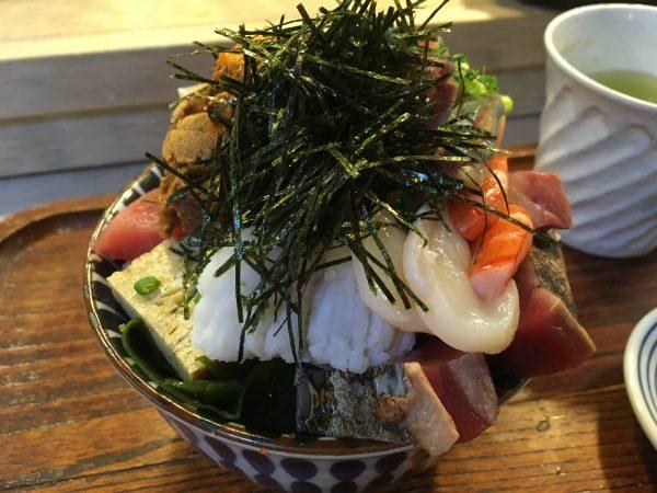 一時帰国日誌18-19 江戸富士 海鮮丼