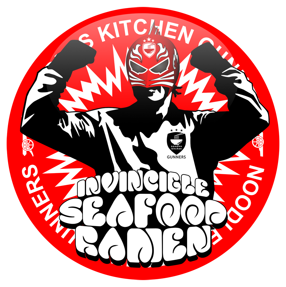 Noodles Kitchen Gunners ヌードルズキッチンガナーズ バッジ