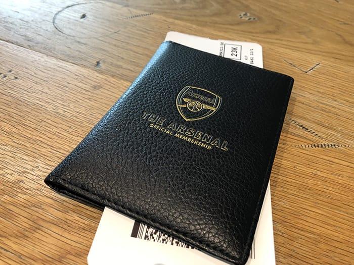 EL決勝 v チェルシー ヒースロー空港 パスポート