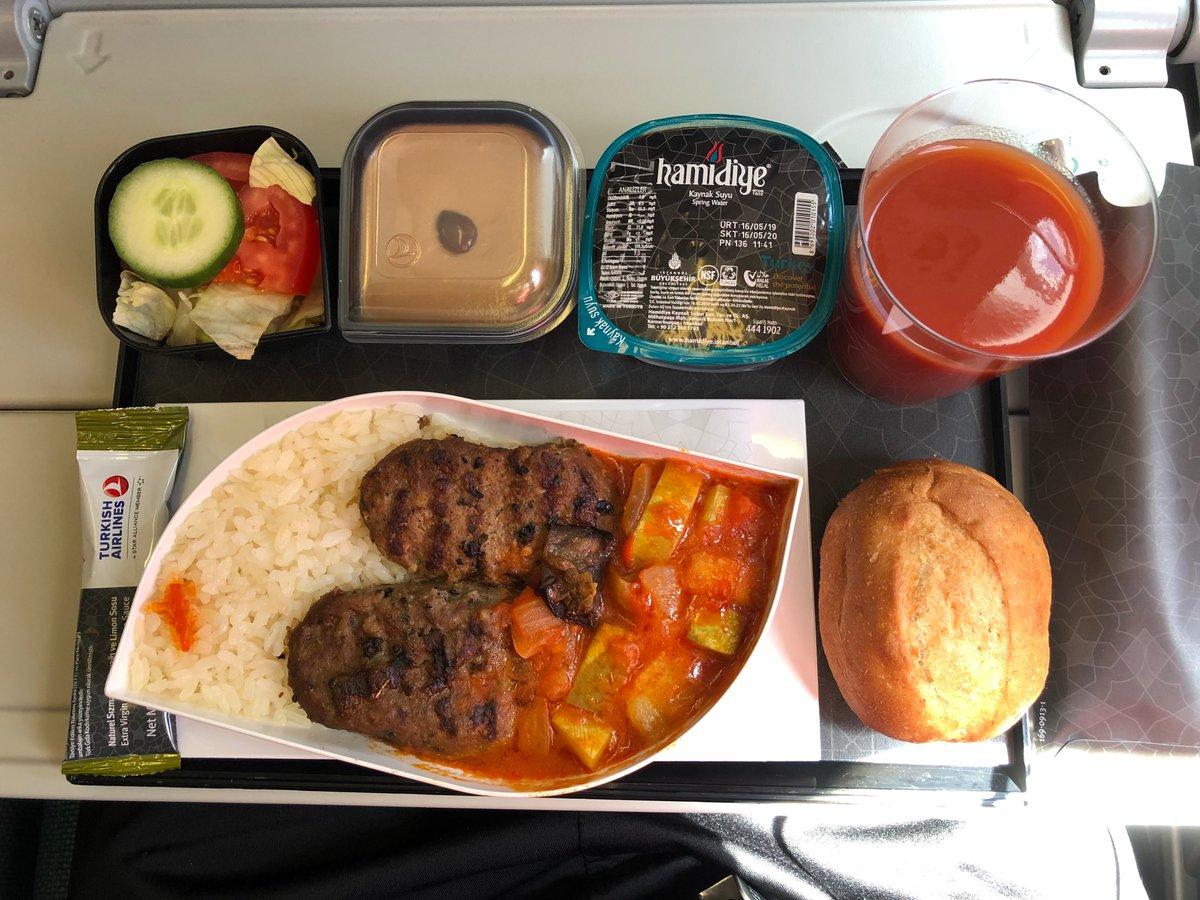 EL トルコ航空 機内食