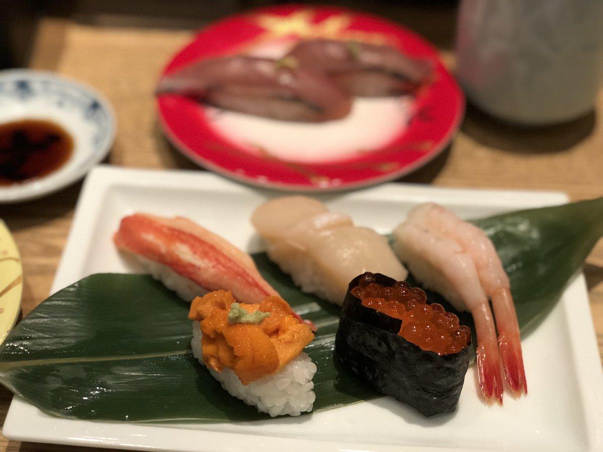 一時帰国日誌 19-20 寿司