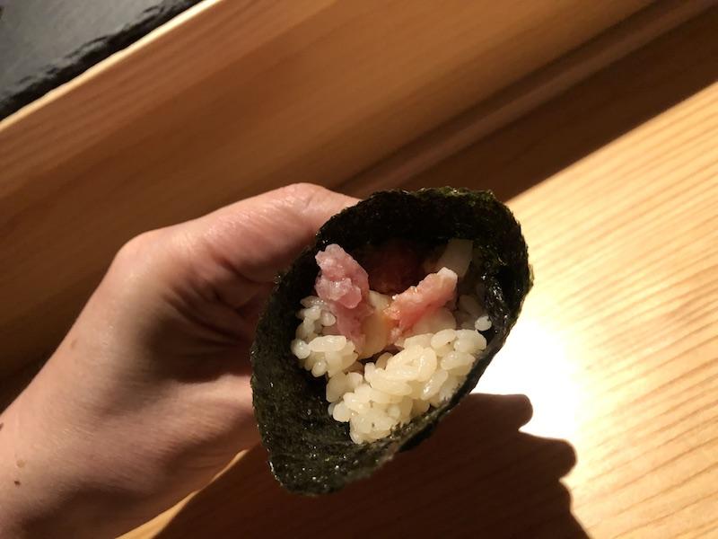 一時帰国日誌 19-20 渋谷ストリーム 天 寿司