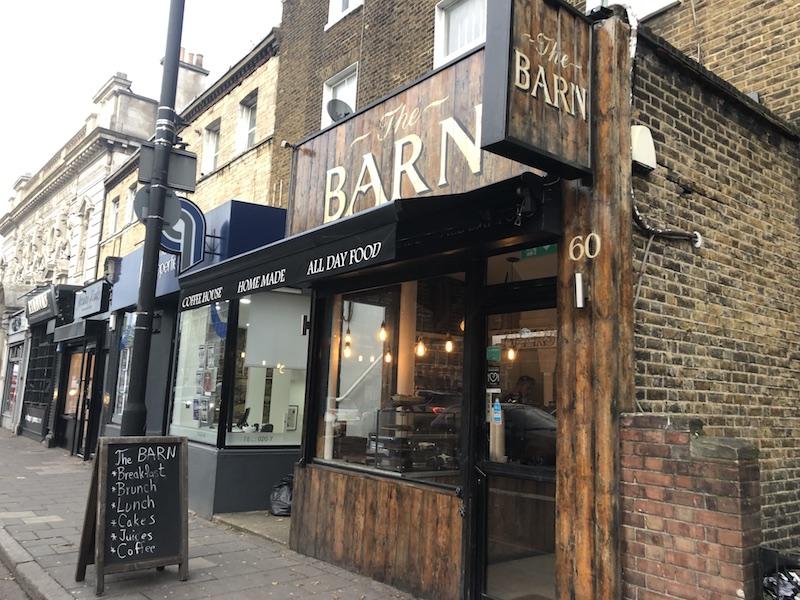 エミレーツへ行こう! ロンドン レストラン The BARN