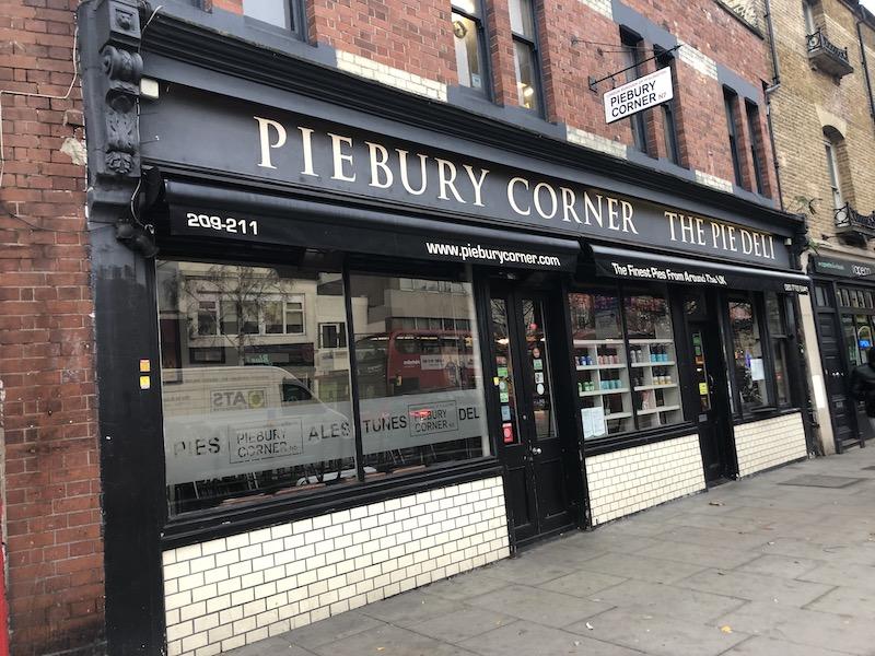 エミレーツへ行こう! ロンドン レストラン PIEBURY CORNER