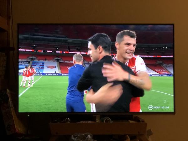 FAカップ 2020 準決勝 v マンチェスター・シティ グラニト・ジャカ