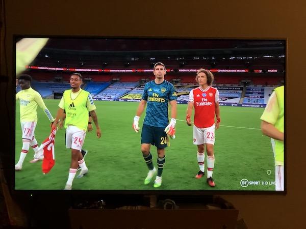 FAカップ 2020 準決勝 v マンチェスター・シティ ダヴィド・ルイス