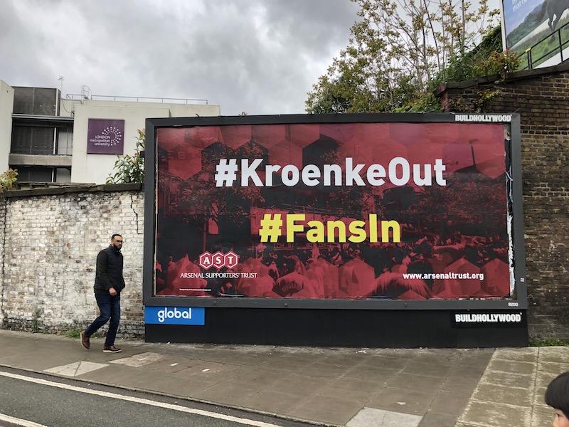 Kroenke Out Fans In AST