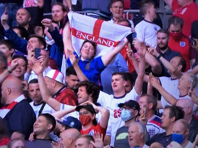 EURO2020 イングランド ウェンブリー