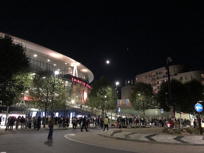カラバオカップ アーセナル v ウィンブルドン エミレーツ・スタジアム